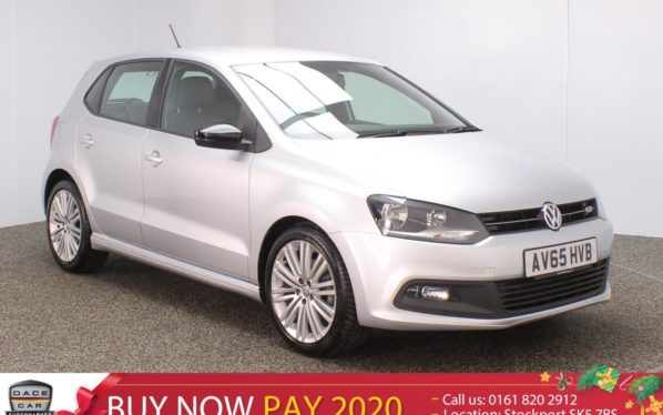 Used 2015 SILVER VOLKSWAGEN POLO Hatchback 1.4 BLUEGT DSG 5DR AUTO 1 OWNER HALF LEATHER SEATS 148 BHP (reg. 2015-11-23) for sale in Stockport