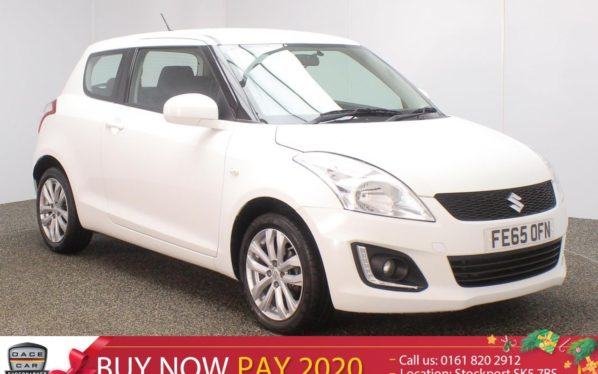 Used 2015 WHITE SUZUKI SWIFT Hatchback 1.2 SZ3 3DR 94 BHP (reg. 2015-09-16) for sale in Stockport