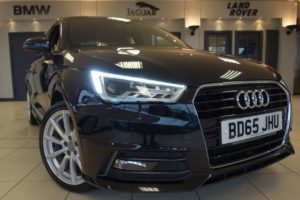 Used 2016 BLACK AUDI A1 Hatchback 1.4 SPORTBACK TFSI S LINE 5d 123 BHP (reg. 2016-10-30) for sale in Hazel Grove