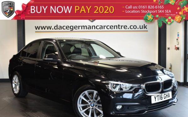 Used 2016 BLACK BMW 3 SERIES Saloon 2.0 320D XDRIVE SE 4DR AUTO 188 BHP full service history (reg. 2016-03-04) for sale in Bolton
