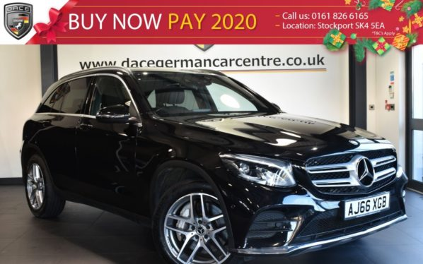 Used 2016 BLACK MERCEDES-BENZ GLC-CLASS Estate 2.1 GLC 250 D 4MATIC AMG LINE 5DR AUTO 201 BHP full service history (reg. 2016-12-29) for sale in Bolton