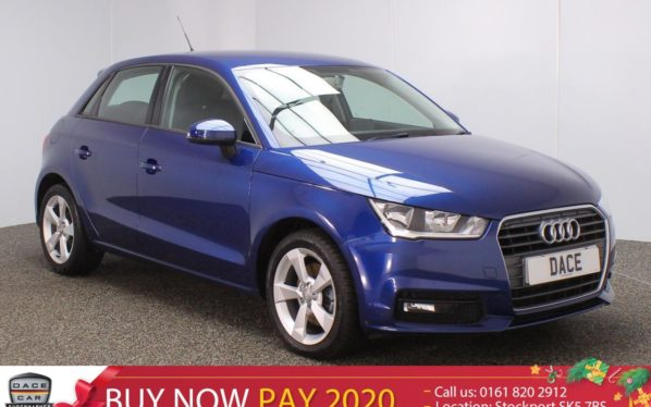 Used 2016 BLUE AUDI A1 Hatchback 1.4 SPORTBACK TFSI SPORT 5DR 1 OWNER 123 BHP (reg. 2016-06-29) for sale in Stockport