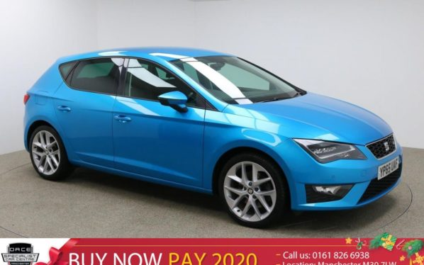 Used 2016 BLUE SEAT LEON Hatchback 1.8 TSI FR TECHNOLOGY 5d 180 BHP (reg. 2016-10-27) for sale in Manchester