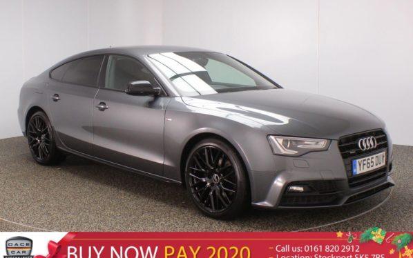 Used 2016 GREY AUDI A5 Hatchback 2.0 TDI QUATTRO BLACK EDITION PLUS SPORTBACK SAT NAV 1 OWNER HALF LEATHER (reg. 2016-11-05) for sale in Stockport
