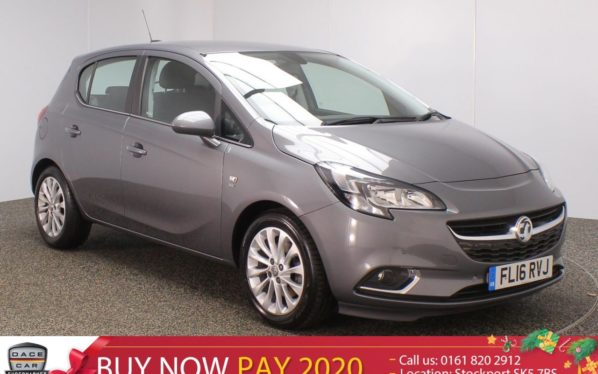 Used 2016 GREY VAUXHALL CORSA Hatchback 1.2 SE CDTI ECOFLEX S/S 5DR HEATED SEATS 1 OWNER 94 BHP (reg. 2016-04-06) for sale in Stockport