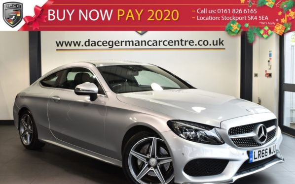 Used 2016 SILVER MERCEDES-BENZ C CLASS Coupe 2.1 C 220 D AMG LINE 2DR AUTO 168 BHP full service history (reg. 2016-09-23) for sale in Bolton