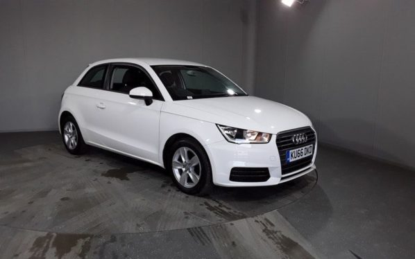 Used 2016 WHITE AUDI A1 Hatchback 1.0 TFSI SE 3d 93 BHP 1 OWNER (reg. 2016-12-02) for sale in Stockport
