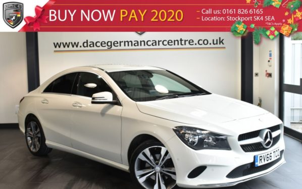 Used 2016 WHITE MERCEDES-BENZ CLA Coupe 2.1 CLA 200 D SPORT 4DR AUTO 134 BHP full service history -  and pound;20 road tax (reg. 2016-09-27) for sale in Bolton