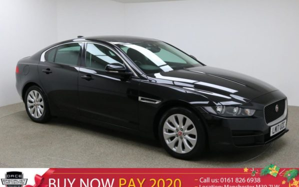 Used 2017 BLACK JAGUAR XE Saloon 2.0 D SE 4d 161 BHP (reg. 2017-05-15) for sale in Manchester