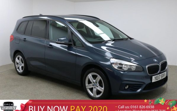 Used 2017 GREY BMW 2 Series GRAN TOURER MPV 1.5 216D SPORT GRAN TOURER 5d 114 BHP (reg. 2017-03-27) for sale in Manchester