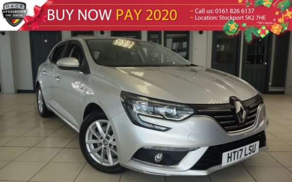 Used 2017 SILVER RENAULT MEGANE Hatchback 1.6 DYNAMIQUE NAV DCI 5d 130 BHP (reg. 2017-06-22) for sale in Hazel Grove