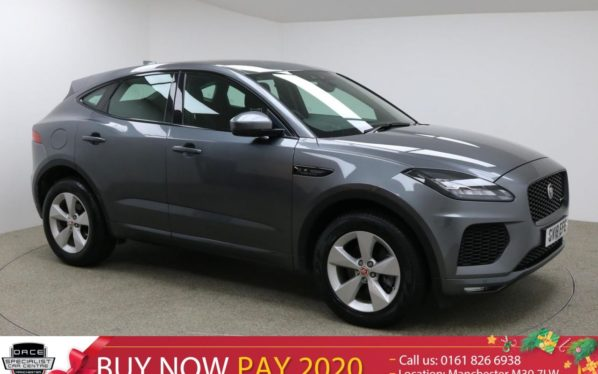 Used 2018 GREY JAGUAR E-PACE Estate 2.0 R-DYNAMIC S 5d AUTO 178 BHP (reg. 2018-08-06) for sale in Manchester