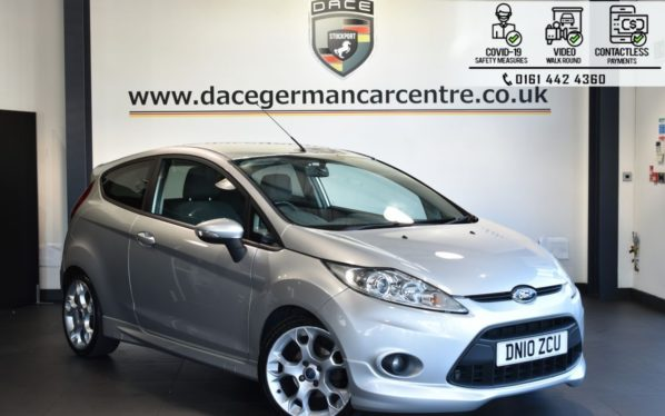 Used 2010 SILVER FORD FIESTA Hatchback 1.6 ZETEC S 3DR 118 BHP (reg. 2010-06-23) for sale in Bolton