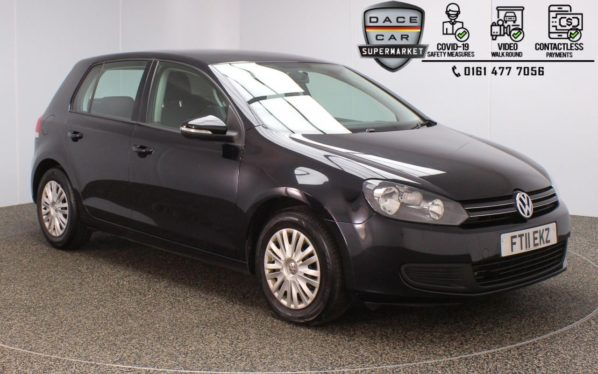 Used 2011 BLACK VOLKSWAGEN GOLF Hatchback 1.2 S TSI 5DR 84 BHP (reg. 2011-05-20) for sale in Stockport