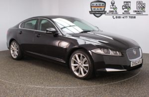 Used 2012 BLACK JAGUAR XF Saloon 3.0 V6 PREMIUM LUXURY 4DR AUTO 240 BHP (reg. 2012-09-24) for sale in Stockport
