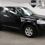 Used 2012 BLACK LAND ROVER FREELANDER 4x4 2.2 TD4 GS 5d AUTO 150 BHP (reg. 2012-09-18) for sale in Manchester