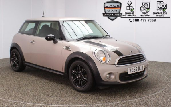 Used 2012 GREY MINI HATCH ONE Hatchback 1.6 ONE D BAKER STREET 3d 88 BHP (reg. 2012-12-14) for sale in Stockport