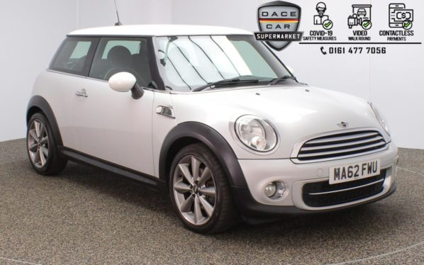 Used 2012 SILVER MINI HATCH COOPER Hatchback 1.6 COOPER D LONDON 2012 EDITION 3DR 110 BHP (reg. 2012-09-26) for sale in Stockport