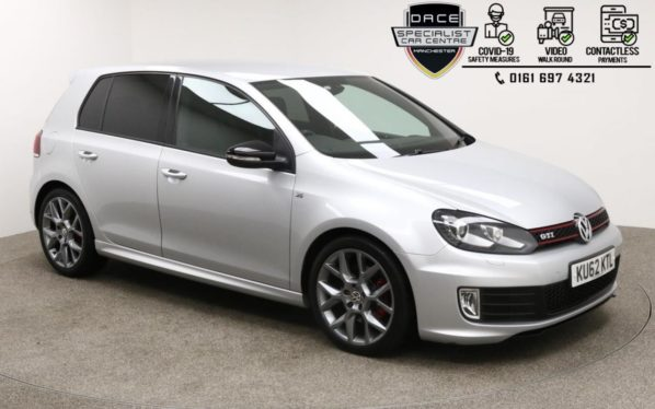 Used 2012 SILVER VOLKSWAGEN GOLF Hatchback 2.0 GTI EDITION 35 5d AUTO 234 BHP (reg. 2012-09-01) for sale in Manchester