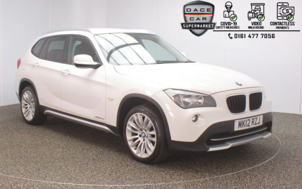 Used 2012 WHITE BMW X1 4x4 2.0 XDRIVE20D SE 5DR 174 BHP (reg. 2012-03-01) for sale in Stockport