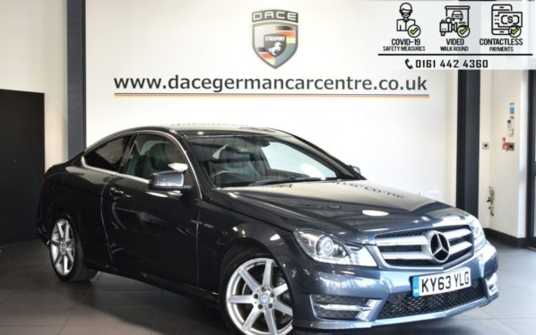 Used 2013 GREY MERCEDES-BENZ C-CLASS Coupe 2.1 C250 CDI BLUEEFFICIENCY AMG SPORT 2DR AUTO 204 BHP (reg. 2013-09-16) for sale in Bolton
