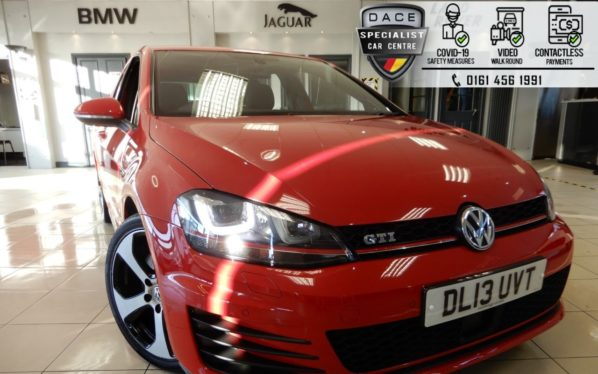 Used 2013 RED VOLKSWAGEN GOLF Hatchback 2.0 GTI PERFORMANCE 5d 227 BHP (reg. 2013-07-26) for sale in Hazel Grove