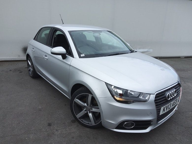 Used 2013 SILVER AUDI A1 Hatchback 1.4 SPORTBACK TFSI SPORT 5d 122 BHP (reg. 2013-03-26) for sale in Manchester