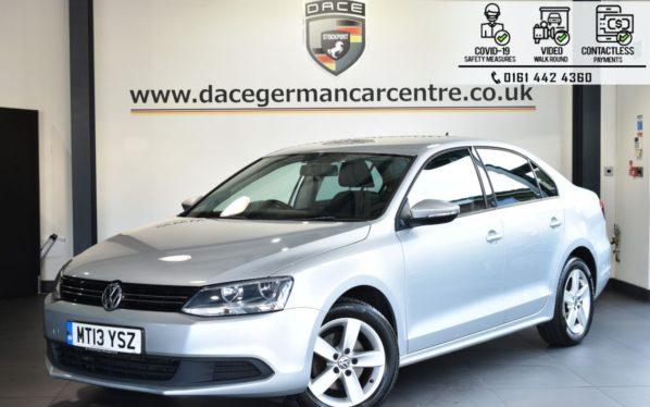 Used 2013 SILVER VOLKSWAGEN JETTA Saloon 1.6 SE TDI BLUEMOTION TECHNOLOGY 4DR 104 BHP (reg. 2013-06-28) for sale in Bolton