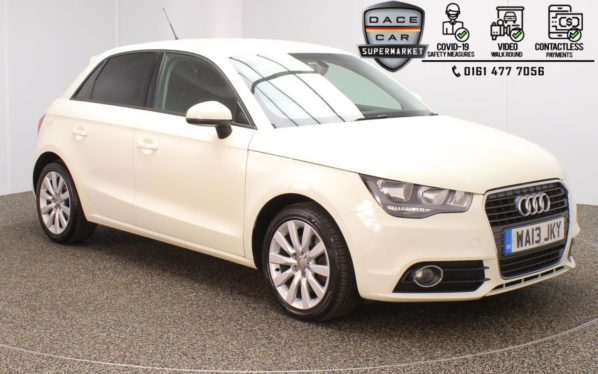 Used 2013 WHITE AUDI A1 Hatchback 1.6 SPORTBACK TDI SPORT 5DR 103 BHP (reg. 2013-03-12) for sale in Stockport
