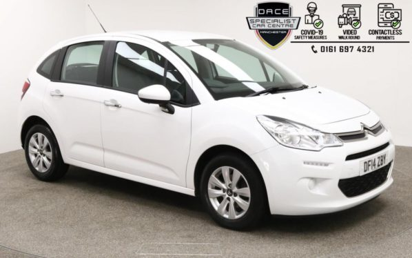 Used 2013 WHITE CITROEN C3 Hatchback 1.0 VTR PLUS 5d 67 BHP (reg. 2013-08-14) for sale in Manchester