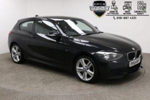Used 2014 BLACK BMW 1 SERIES Hatchback 2.0 118D M SPORT 3d 141 BHP (reg. 2014-10-09) for sale in Manchester