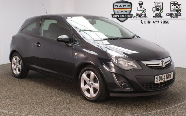 Used 2014 BLACK VAUXHALL CORSA Hatchback 1.4 SXI 3DR 98 BHP (reg. 2014-12-31) for sale in Stockport