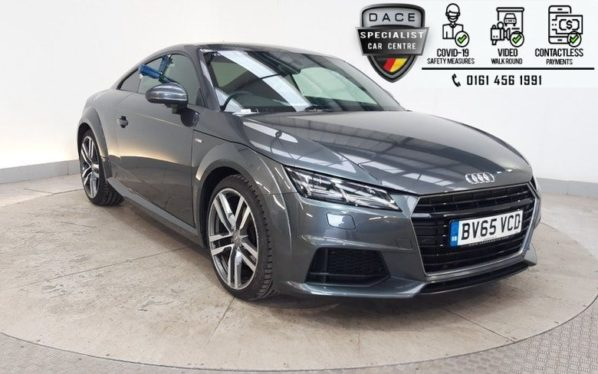 Used 2015 GREY AUDI TT Coupe 2.0 TDI ULTRA S LINE 2d 182 BHP (reg. 2015-09-03) for sale in Hazel Grove