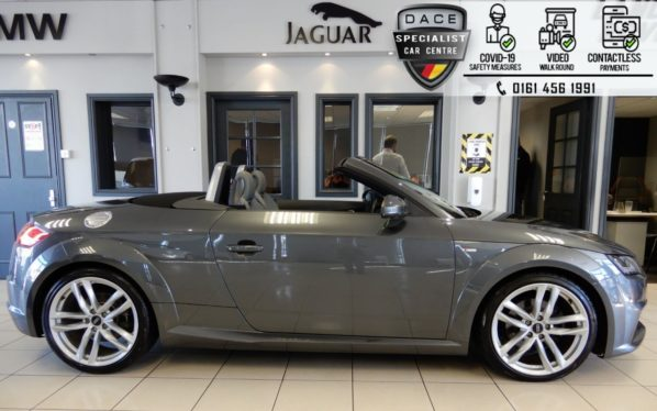 Used 2015 GREY AUDI TT Convertible 2.0 TFSI QUATTRO S LINE 2d AUTO 227 BHP (reg. 2015-12-19) for sale in Hazel Grove