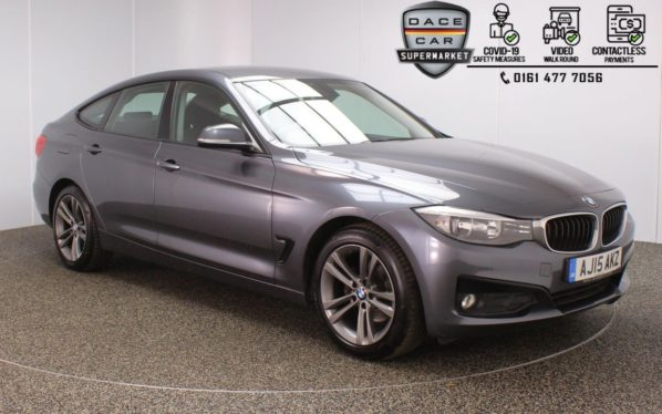 Used 2015 GREY BMW 3 SERIES GRAN TURISMO Hatchback 2.0 320D SPORT GRAN TURISMO 5DR 1 OWNER AUTO 181 BHP (reg. 2015-05-27) for sale in Stockport