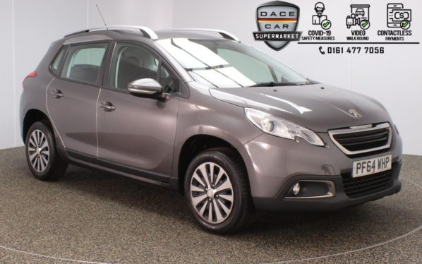 Used 2015 GREY PEUGEOT 2008 Hatchback 1.6 E-HDI ACTIVE FAP 5DR AUTO 92 BHP (reg. 2015-02-28) for sale in Stockport