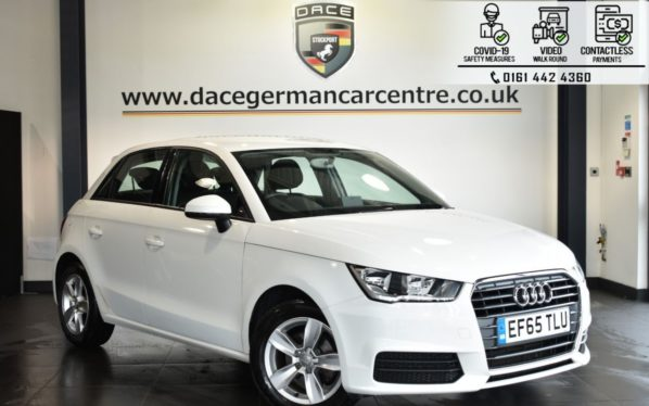 Used 2015 WHITE AUDI A1 Hatchback 1.0 SPORTBACK TFSI SE 5DR 93 BHP (reg. 2015-12-16) for sale in Bolton