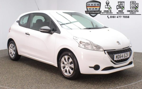 Used 2015 WHITE PEUGEOT 208 Hatchback 1.0 ACCESS 3DR 68 BHP (reg. 2015-01-31) for sale in Stockport