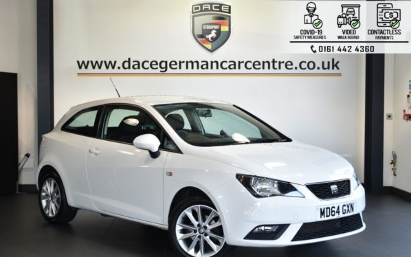 Used 2015 WHITE SEAT IBIZA Hatchback 1.4 TOCA 3d 85 BHP (reg. 2015-01-19) for sale in Bolton