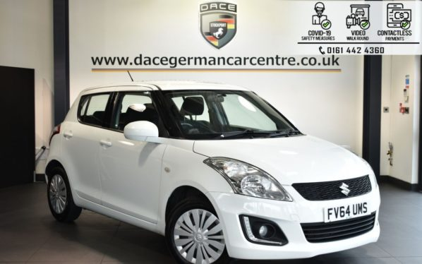 Used 2015 WHITE SUZUKI SWIFT Hatchback 1.2 SZ2 5DR 94 BHP (reg. 2015-02-17) for sale in Bolton