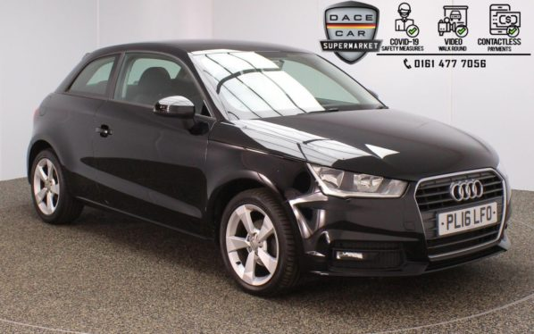Used 2016 BLACK AUDI A1 Hatchback 1.0 TFSI SPORT 3DR 1 OWNER 93 BHP (reg. 2016-07-09) for sale in Stockport