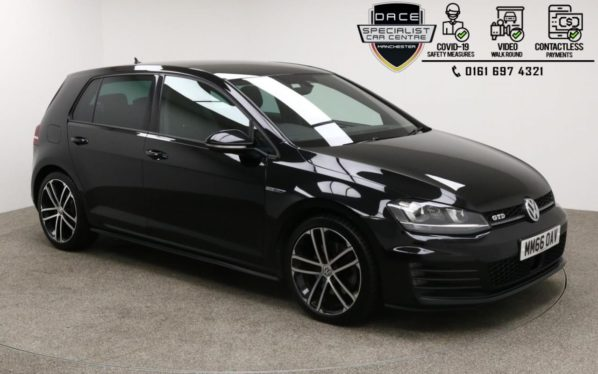 Used 2016 BLACK VOLKSWAGEN GOLF Hatchback 2.0 GTD 5d 181 BHP (reg. 2016-12-31) for sale in Manchester