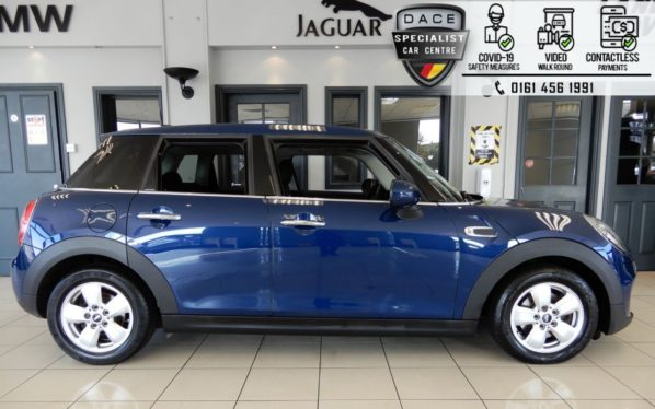 Used 2016 BLUE MINI HATCH COOPER Hatchback 1.5 COOPER D 5d 114 BHP (reg. 2016-09-23) for sale in Hazel Grove