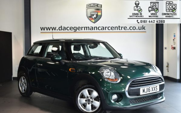 Used 2016 GREEN MINI HATCH ONE Hatchback 1.2 ONE 3DR 101 BHP (reg. 2016-04-14) for sale in Bolton