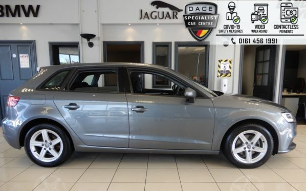 Used 2016 GREY AUDI A3 Hatchback 1.4 TFSI SE 5d 148 BHP (reg. 2016-11-28) for sale in Hazel Grove