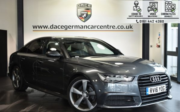 Used 2016 GREY AUDI A6 Saloon 2.0 TDI ULTRA BLACK EDITION 4d AUTO 188 BHP (reg. 2016-05-03) for sale in Bolton