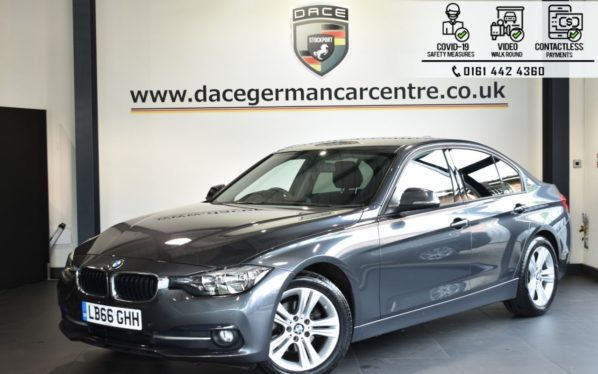 Used 2016 GREY BMW 3 SERIES Saloon 2.0 320D ED SPORT 4DR AUTO 161 BHP (reg. 2016-12-21) for sale in Bolton