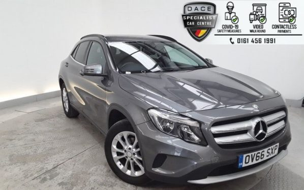 Used 2016 GREY MERCEDES-BENZ GLA-CLASS Estate 2.1 GLA 200 D SE 5d 134 BHP (reg. 2016-11-16) for sale in Hazel Grove