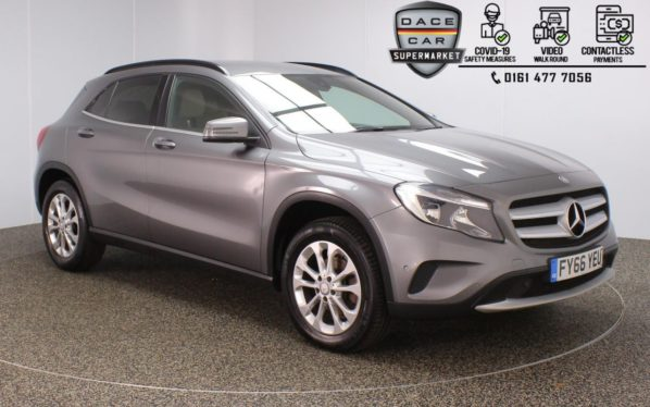Used 2016 GREY MERCEDES-BENZ GLA-CLASS Estate 2.1 GLA 200 D SE EXECUTIVE 5DR 1 OWNER AUTO 134 BHP (reg. 2016-11-15) for sale in Stockport