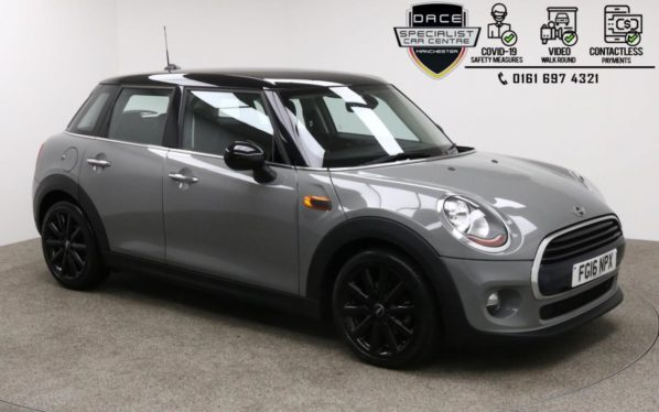 Used 2016 GREY MINI HATCH COOPER Hatchback 1.5 COOPER D 5d 114 BHP (reg. 2016-04-18) for sale in Manchester